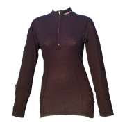 Shrit, long sleeves with zip